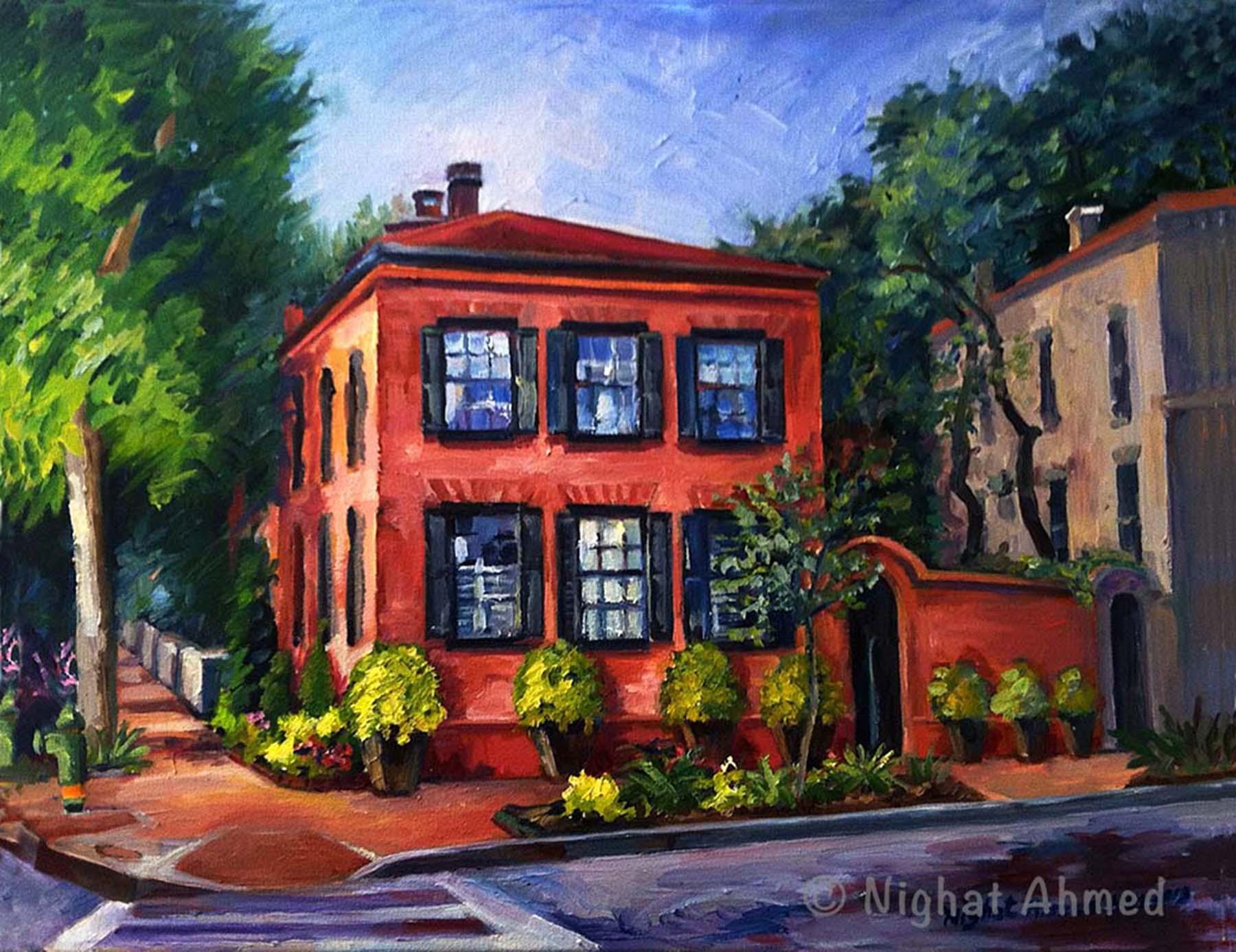 Red Brick House Nighat Ahmed
