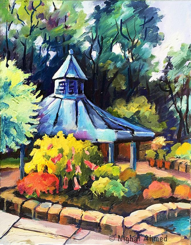 Gazebo in Brookside Gardens